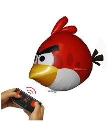 Air Swimmers Turbo Remote Controlled Flying Angry Birds Toy - Red Yellow