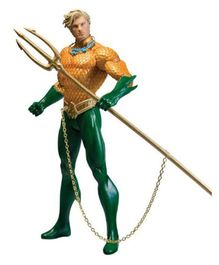 DC Direct Justice League Aquaman Action Figure - 17 cm