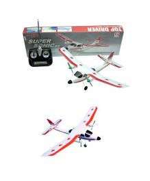 Syma 2 Channel Super Sonic Radio Control Airplane - White Red