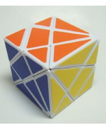 YJ Fluctuation Angle Puzzle Cube - Multicolor