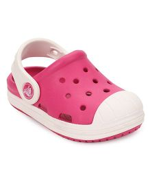 Crocs Girls Clogs Candy Pink/Oyster 5Y