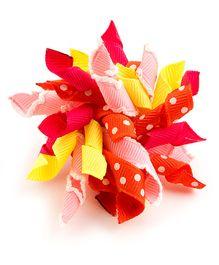 Ribbon Candy Pretty Alligator Clip - Multicolor