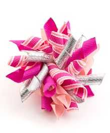 Ribbon Candy Trendy Alligator Clips - Pink