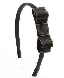 Ribbon Candy Stylish Hairband - Black