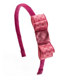 Ribbon Candy Stylish Hairband - Dark Pink