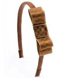 Ribbon Candy Stylish Hairband - Brown