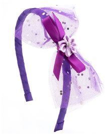 Ribbon Candy Stylish Hairband - Purple