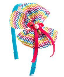 Ribbon Candy Stylish Hairband - Multicolour