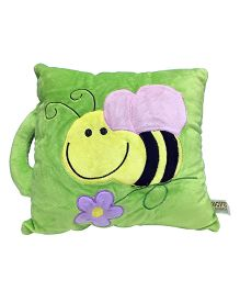 Soft Buddies Loop Playtoy Honey Bee Design Green - 28 cm