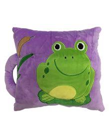 Soft Buddies Loop Playtoy Frog Design Purple - 28 cm