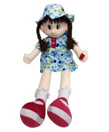 Soft Buddies Candy Doll Blue - 75 cm