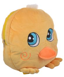 Soft Buddies Plush Soft Toy Bag With Chick Design Yellow - 38.1 cm