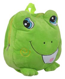 Soft Buddies Plush Soft Toy Bag With Froggy Design Green - 38.1 cm
