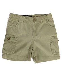 Kiddopanti Cargo Shorts - Light Beige
