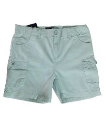 Kiddopanti Cargo Shorts - Light Blue