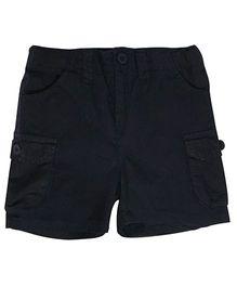 Kiddopanti Cargo Shorts - Black