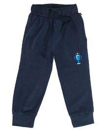 Kiddopanti Drawstring Track Pant - Navy Blue