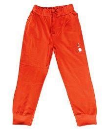 Kiddopanti Drawstring Track Pant - Orange