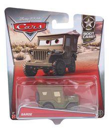 Disney Pixar Cars Sarge Boot Camp - Brown