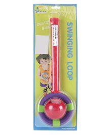 Safsof Swinging Loop - Red And Purple