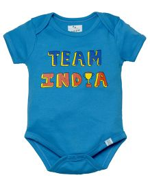 Zeezeezoo Team India Onesie - Blue