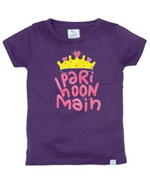 Zeezeezoo Pari Hoon Main T-Shirt - Violet