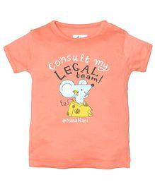 Zeezeezoo Consult My Legal Team Nananani - Peach