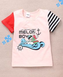 Superfie Melon Boy Printed Tee - Off White