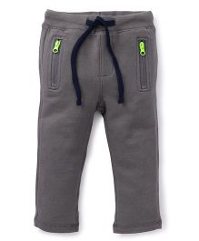 UCB Track Pants With Drawstrings - Grey