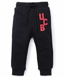 UCB Track Pants With Drawstrings - Black