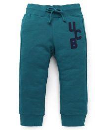 UCB Track Pants With Drawstrings - Green
