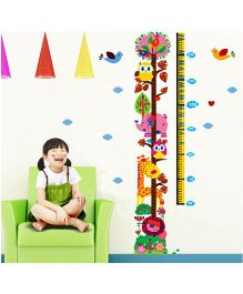 Syga Height Measurement Decal - Multicolor