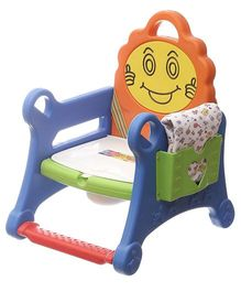 NHR Baby Smiley Folding Potty Chair - Multicolor