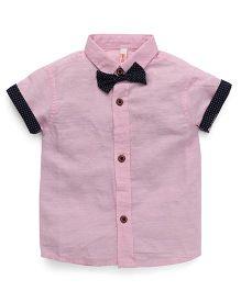 Spark Half Sleeves Shirt - Pink
