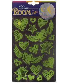 Fab N Funky Glow In The Dark Room Decor Sticker