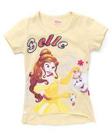 Proteens - Bodycare Half Sleeves Tee Belle Print - Yellow
