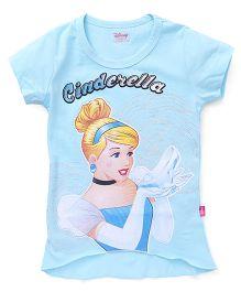 Proteens - Bodycare Half Sleeves Tee Cinderella Print - Light Blue