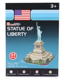 CubicFun Statue of Liberty Puzzle Multicolor - 31 Pieces