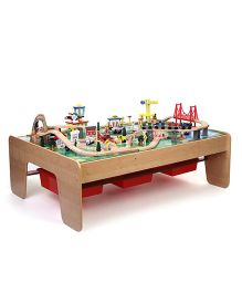 Kidkraft Waterfall Mountain Train Table Set - 120 Pieces