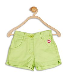 612 League Shorts Teddy Patch & Heart Design - Green