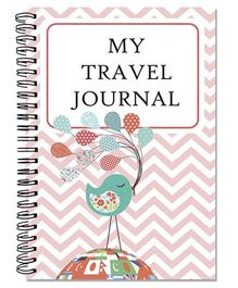 Little Jamun Travel Journal Bird With Balloon Theme