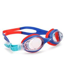 Speedo Anti Fog Swimming Goggles - Blue & Red