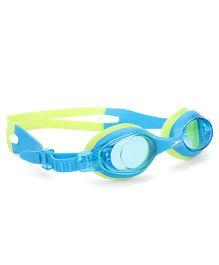 Speedo Anti Fog Swimming Goggles - Blue & Green