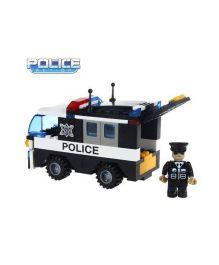 Saffire Police Car Vehicle - 103 pieces