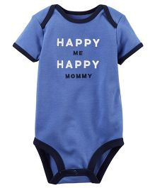 Carter's Happy Mommy Collectible Bodysuit - Blue