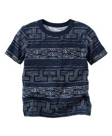 Carter's Geo Pocket Tee - Navy