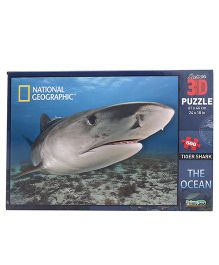 Prime 3D The Ocean Tiger Sharks Puzzle - 500 Pieces