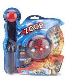 Tosy Toop Battery Operated Single Top With Controller - Blue Red