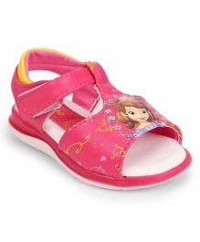 Little Maira Princess Design Sandals - Pink
