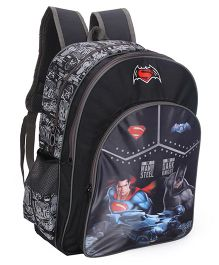 DC Comics Batman Print School Bag Black - 18 inch